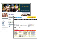 View sample School Website.